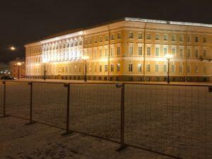 Временные ограждения дворцовая Санкт-Петербург